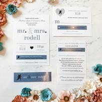 Runner's Dream Wedding Invitation