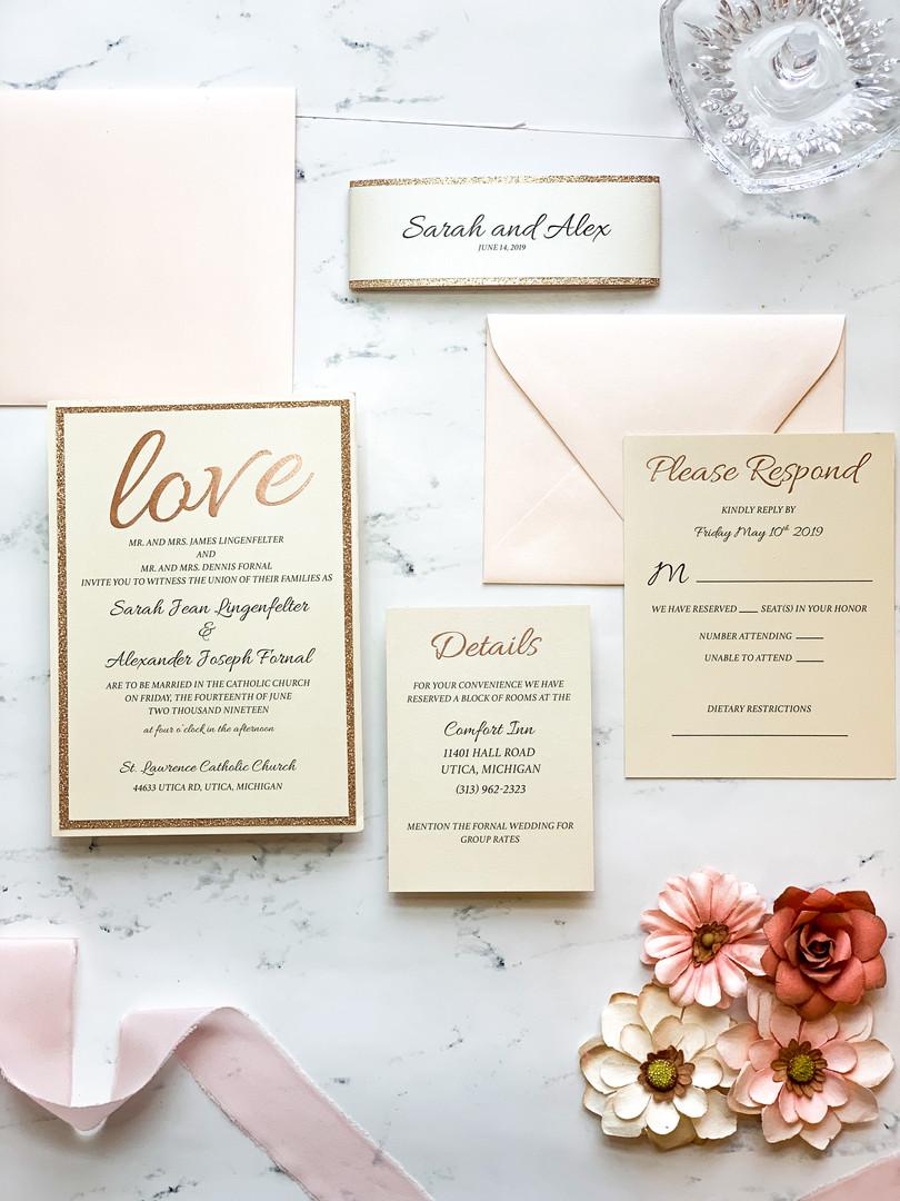 gold-glitter-wedding-invitation