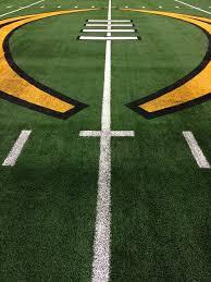 Mid-Field on Football Field