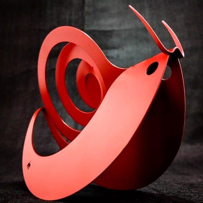 Caracol com antenas