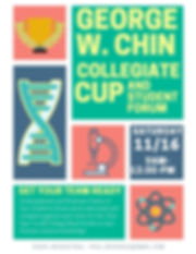 Announcement for the George W. Chin Cup Competition at the 2019 NEAFS Annual Meeting