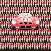 Image caricaturée - GTO- Photographie d'art.