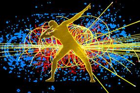 Particules de dieux - Photographie d'art.