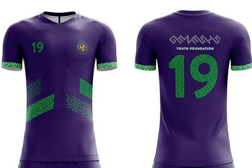 GYF Purple Soccer Jersey