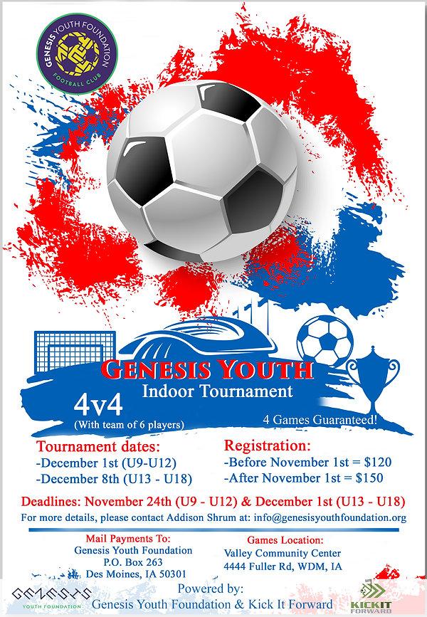 Genesis Youth Indoor Tournament Flyer.jp
