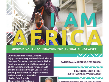 JOIN US – I AM AFRICA – MARCH 30