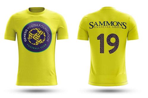 GYF Yellow Practice T-Shirt
