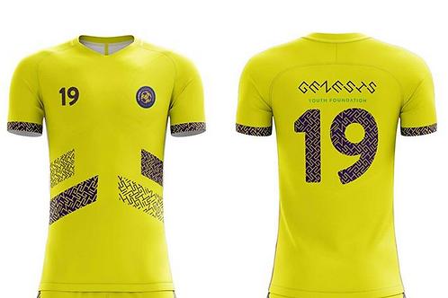 GYF Yellow Soccer Jersey