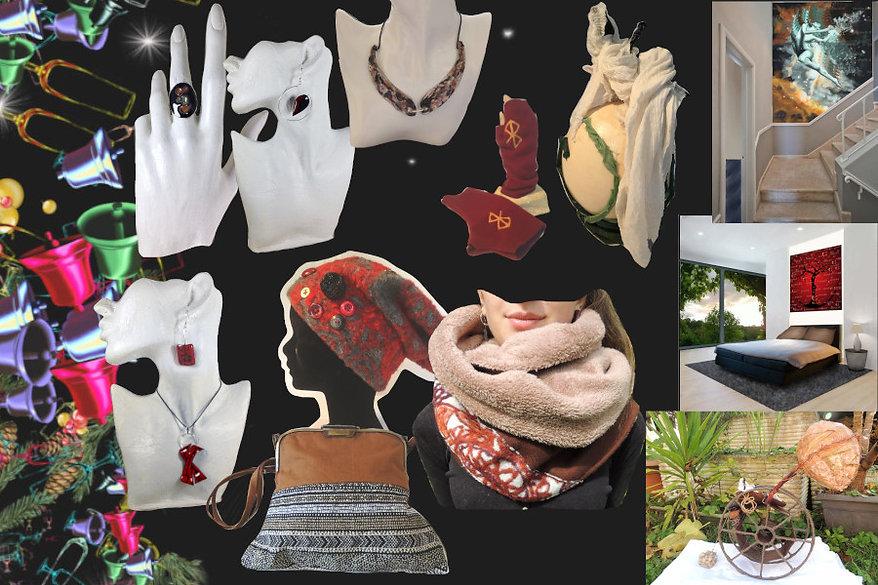 idées cadeaux bijoux mode peinture sculp