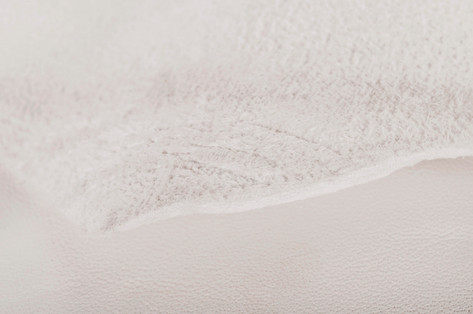 Wet -white leather