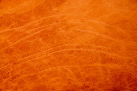 Semi-aniline leather