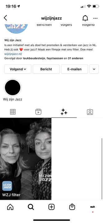 1. Wij Zijn Jazz instagram profile