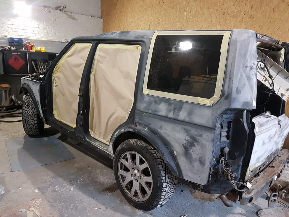 car bodyshop Glasgow