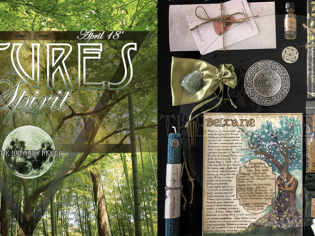 Making 'The Witches Moon' box work for Southern Hemisphere witches