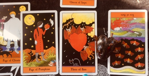 'The heart of the matter'  tarot reading - 10+ cards
