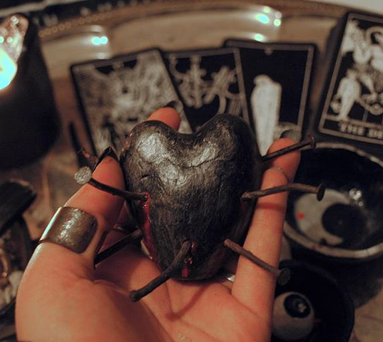 Wounded heart fetish