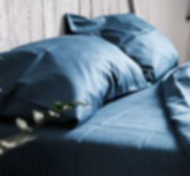 Темное постельное белье