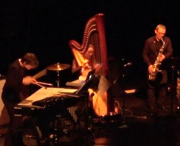 jazz vibraphone harpe sax