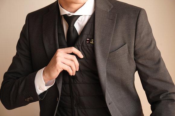 Smart V- 男裝無領兩用智能發熱背心