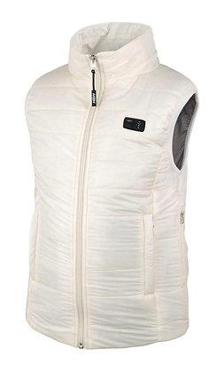 (白色)Classic- 女裝經典有領智能發熱背心