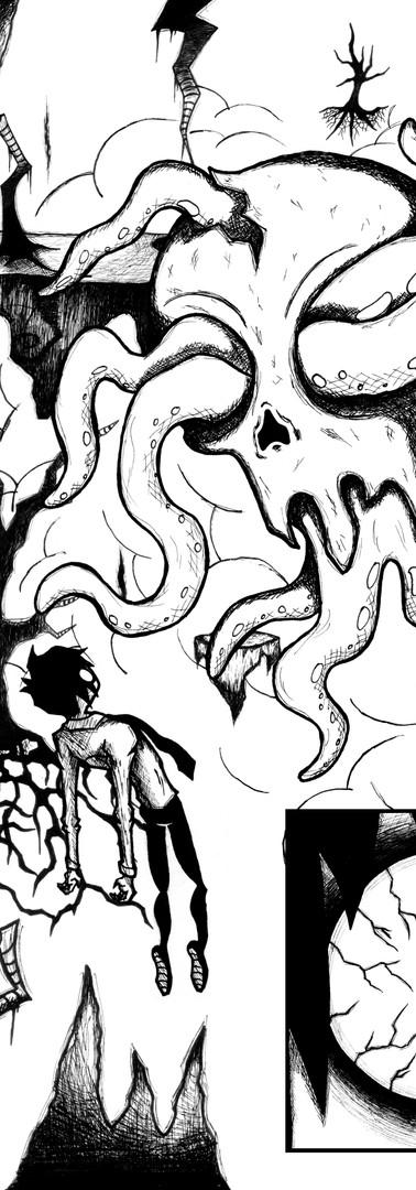 Sam & Death (comic book page 2)