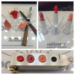 Aldani Cosmetics custom bend lipsticks! Had three orders for special mixed lipsticks they are beauti