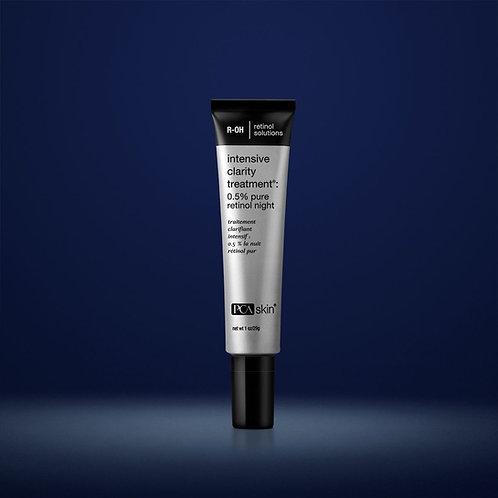 Intensive Clarity Treatment: 0.5% Pure Retinol