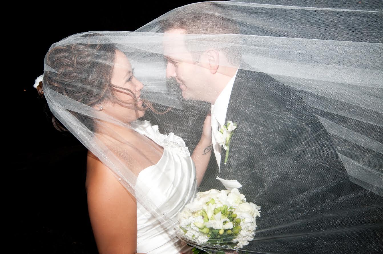 Bride Couple Veil