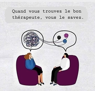 choix du bon thérapeute