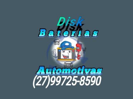 Disk Baterias Automotivas a Energia que faz mover a sua Paixão!