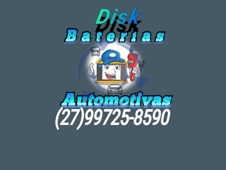 A Bateria do seu veículo não funcionou? Disk Baterias Automotivas! Atendemos ágil no seu local.