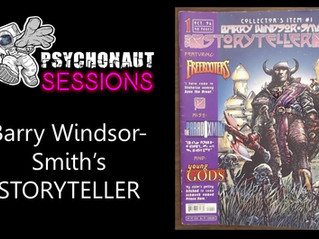 Psychonaut Sessions Comics Review: Barry Windsor Smith's STORYTELLER No. 1