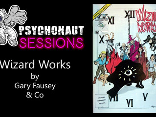 Psychonaut Sessions - Comic Review: WIZARD WORKS #1