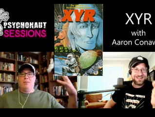 """Psychonaut Sessions - Reading XYR ( a """"choose your own adventure"""" comic) with Aaron Conaway"""