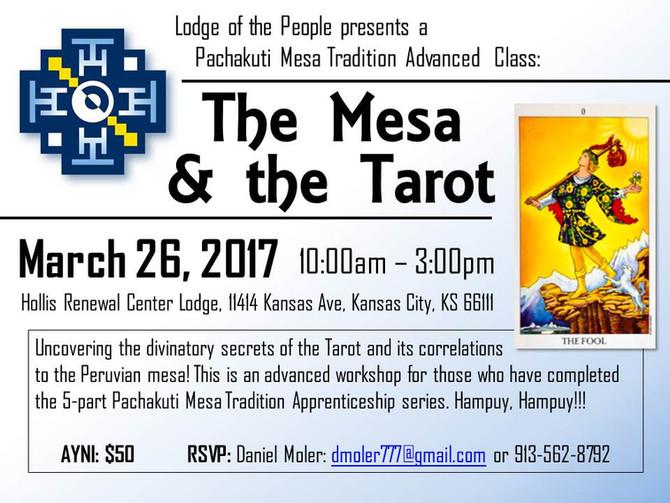New Class: The Mesa & Tarot