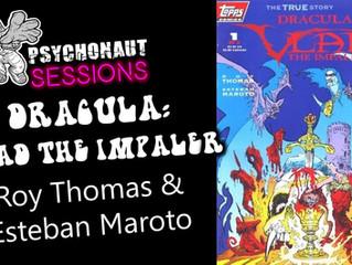 Psychonaut Sessions - Comic Review: DRACULA: VLAD THE IMPALER