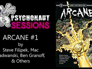 Psychonaut Sessions - Comic Review: ARCANE #1 from Cosmic Lion Productions