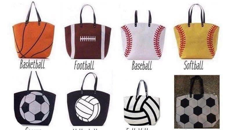Canvas Sport bags (Monogramed)
