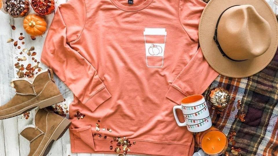 Pumpkin Spice Latte Sweatshirt