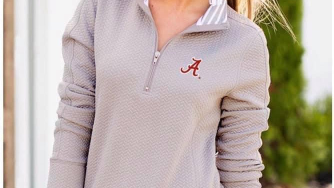 Sports Quilted Pullover