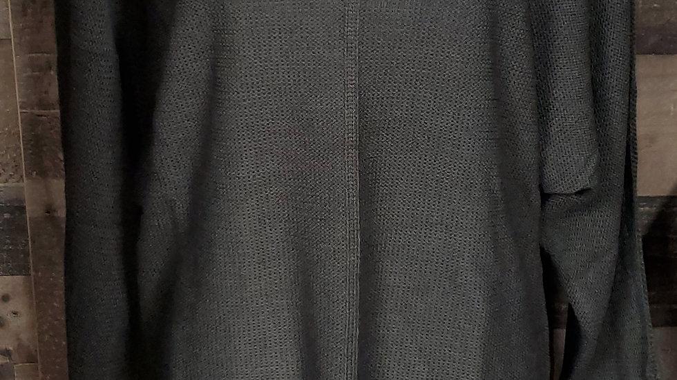 V-Neck sweater with slits