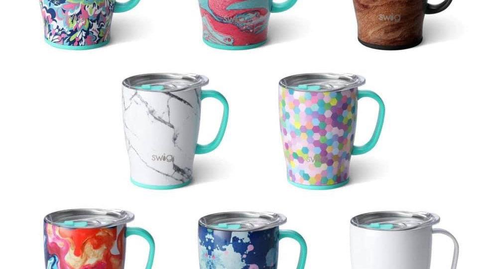 Pattern Swig Coffee Mugs
