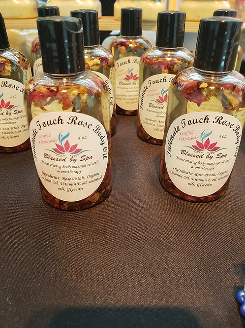 Intimate Touch Rose Body Oil