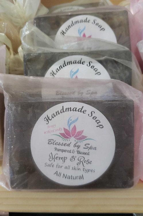 Hemp & Rose Soap
