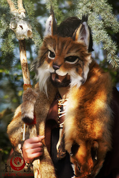 Lynx roux fluffy