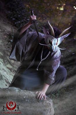 """Dragon japonais """"kabuki"""""""