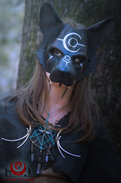Panthère noir bleuté