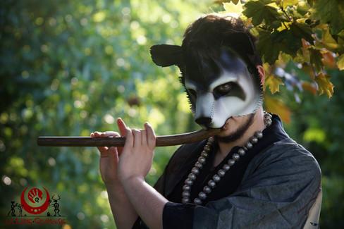 Panda noir et blanc