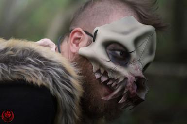 Crâne de hyène