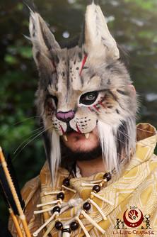 Lynx ibérique fluffy